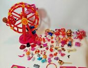 Lalaloopsy Dolls And Ferris Wheel Lot With Accessories Mga Minis
