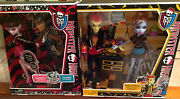 Monster High Music Festival 2-pack Clawd Wolf Draculaura And Heath Abby Two Pack