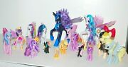 My Little Pony Friendship Is Magic Lot Ponies- Talking Celestia And Nightmare Moon
