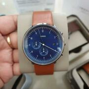 Fossil Fs5486 Chase Timer Chronograph Luggage Leather Blue Dial Menand039s Watch