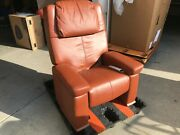 Human Touch Rms-15 Cognac Leather Massage Chair Recliner