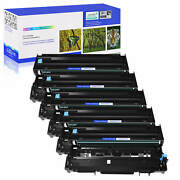 5 Pack Dr400 Drum Unit For Brother Dr-400 Dcp-1200 Dcp-1400 Fax-8350p Hl-1030