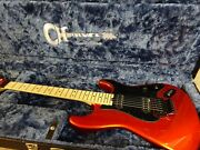 Charvel Custom Shop So Cal 2h Candy Tangerine Guitar W/ Charvel Cs Case -offers