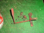 Vintage Lombard Chainsaw Throttle Linkage And Screws 1940s - 1950s