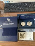 2012 American Eagle Two-coin Silver Proof Set Us Mint Ogp San Francisco -andnbsp
