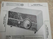 Arvin 2572 And 2573 - Schematic And Parts Id - Sams Photofact - Tube Radio