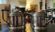 Victorian Reed And Barton Silver-plated Cream Pitcher And Sugar Bowl
