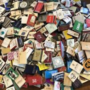 Match Books And Match Boxes Worldwide Lot Of 500+ New Boxes