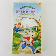 New Vintage Brer Rabbit Tales Vhs 1993 Family Home Entertainment Sealed