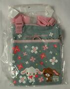 Sugarbunnies Vintage Denim Bag With Adjustable Strap And Small Pouch 2007