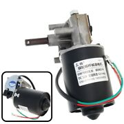 Worm Gear Electric Motor Dc 6v 4rpm Rc Torque Gw7085 Left Reduction For Barbecue