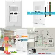 Enerlites Mwos-w Motion Sensor Switch Ultrasonic And Pir Dual Technology Occup