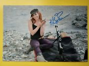Kari Byron Hand Signed 12 X 8 Photo Autograph Mythbusters And White Rabbit Project