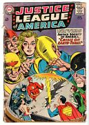 Justice League Of America 29 - Jsa X-over And 1st Sa Starman, Good - Vg Condition