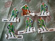 1960s Eagle Toys Coleco Table Hockey Game Team Players Oakland Seals California