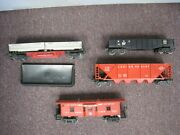 Lot Of 4 O Gauge Lionel Post War Freight Cars