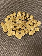 Huge Lot 65 Us Eagle Vintage Waterbury Button Co Conn 1/2andrdquo Military