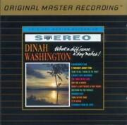 Dinah Washington What A Diffand039rence A Day Makes [24k Gold Plated Cd]