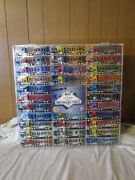 1997 Nfl Team White Rose Collectible Semi Tractor Trailer Collection W/display