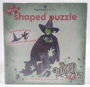 The Wizard Of Oz 500pc Shaped Puzzle Wicked Witch Of The West Paper House Rare