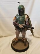 Sideshow Star Wars Boba Fett Premium Format Figure 1/4 Scale 740 Of 2000