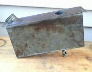 Original 1915 Dayton Motorcycle Removable Oil Tank Spacke Deluxe Engine Antique