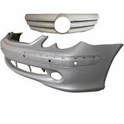 Set Bumper Front + Sports Grill Mercedes Clk W209 Year 02-05 For