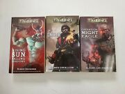 3x Tannhauser Novel Based On Board Game Lot Enigma Operation Night Eagle Rising