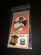 Willie Mays Hall Of Fame Chevron San Francisco Giants Pin. New