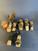 Lot Of 8 Vintage Bottle Stoppers Some Anri A Couple Missing Pieces