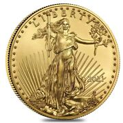 2021 1oz 50 Gold Eagle | Gem Brilliant Uncirculated | Flawless And Beautiful