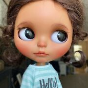 Adorable Ooak Custom Tan Tbl Blythe Doll By Caredollbykv Us Seller