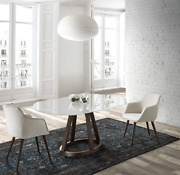 Esf Alice Dining Table And Jax Chair Dining Room Set Made By Nacher Spain, 5 Pcs