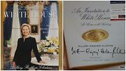 Hillary Rodham Clinton Signed Book Psa/dnay82215