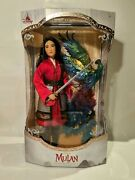Disney Limited Edition Doll - Mulan - Live Action - Brand New In Box Unopened