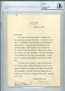 President William H. Taft Signed Letter To Well Known Journalist Gus J. Karger,