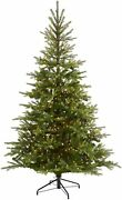 Nearly Natural 7ft. North Carolina Spruce Artificial Christmas Tree 450 Lights