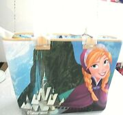 Disney Parks Dooney And Bourke 2019 Frozen Elsa And Anna Tote Bag Purse