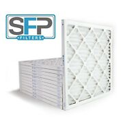 20x20x1 Merv 13 Pleated Ac Furnace Filters. Case Of 12, Captures Airborne Virus