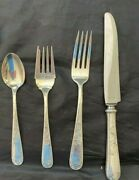 Kirk Mayflower Sterling Set For 12 By 4. Hand Polished With Estate Box Matching