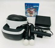 Sony Playstation Vr Psvr Iron Man Bundle Vr Headset + Camera + Controllers Ps4