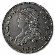 1819 Capped Bust Quarter Vf Details Small 9cleaned - Sku230647