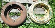 Lot Of 2 Used John Deere Tractor L388t Al2157t Wheel Weights No Shipping
