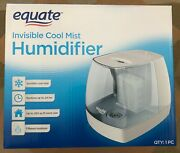 New Equate Invisible Cool Mist Humidifier 24 Hr 250 Sq Ft Filter Included