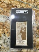 1928 George Ruth Candy Co. 4 Babe Ruth Sgc 2.5