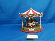 Lemax Village Collection The Grand Carousel 84349 As Is Sc0029