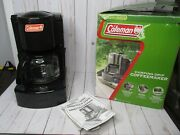 Coleman Camping Drip Coffee Maker 10 Cup Soup Tea Cocoa With Box Instructions