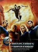 Fantastic 4 The Rise Of The Silver Surfer Marvel 2007 French Poster 47x63