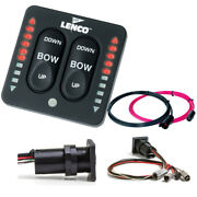 Lenco Led Indicator Integrated Tactile Switch Kit W/pigtail F/dual Actuator Syst