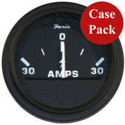 Faria 2 Heavy-duty Ammeter 30-0-30 - Black Bulk Case Of 24 Ap0530b